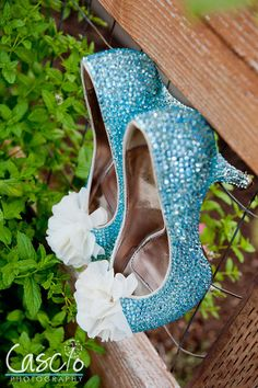 Blinged Out Pumps - Fabulous Wedding Shoes