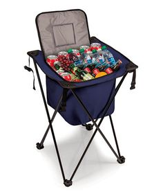 Set up the ONIVA Sidekick Portable Standing Picnic Beverage Cooler for a spacious cooler on the go. Crafted from durable reinforced polyester and sporting. Camping Gear, Outdoor Camping, Camping Stuff, Outdoor Fun, Camping Hacks, Camping Site, Camping Outdoors, Outdoor Parties, Camping Equipment