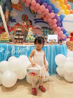Elmo's Hot Air Balloon Party   CatchMyParty.com