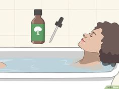 How to Use Tea Tree Oil for Acne: 12 Steps (with Pictures) Young Living Oils, Young Living Essential Oils, Essential Oil Blends, Tea Tree Oil Uses, Tea Tree Oil For Acne, Creme Acne, Huile Tea Tree, Homemade Essential Oils, How To Make Oil