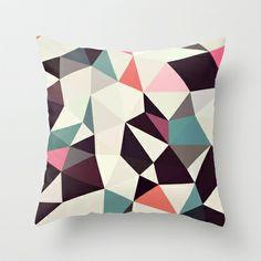 Retro Tris Light Throw Pillow http://society6.com/product/Retro-Tris-Light_Pillow#25=193&18=126
