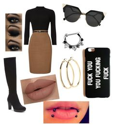 """""""Untitled #156"""" by justmekissy on Polyvore featuring Donald J Pliner, Phase Eight, Pieces and Fendi"""