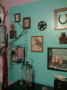 cowgirl chic bedroom