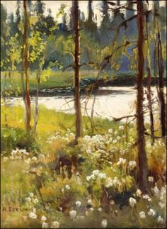 View Haikon metsälampi by Albert Edelfelt on artnet. Browse upcoming and past auction lots by Albert Edelfelt. Landscape Art, Landscape Paintings, Landscapes, Scandinavian Paintings, North Europe, Modernism, Visual Arts, Scenery, Auction