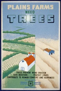 WPA posters from 30's or 40's