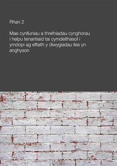 Rhan 2 - Edrych ar ba gynlluniau a threfniadau sydd gan gynghorau mewn lle i helpu eu tenantiaid tai gydag effaith diwygio lles