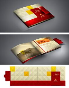 interior design brochure - Booklet design, Brochures and Black paper on Pinterest