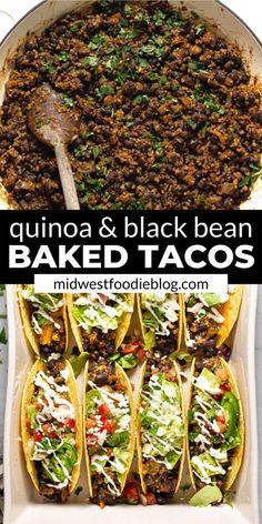 Tasty Vegetarian Recipes, Vegan Dinner Recipes, Vegan Dinners, Veggie Recipes, Mexican Food Recipes, Whole Food Recipes, Diet Recipes, Cooking Recipes, Healthy Recipes