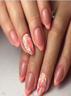 Painted nails idea for women | Nails Arts Design | Pinterest