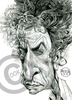 Bob Dylan by RussCook.deviantart.com on @DeviantArt