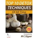 TOP TEN DETOX METHODS OF ALL TIME  Free Report on the Top Ten Cleansing and Detox  Methods.  This report is one such gathering of knowledge, giving you the maximum leverage with your detox and cleanse en-devours.