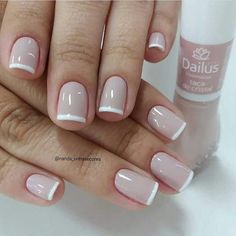18 - 2019 - 2020 most beautiful nail models - 1 period nail designs. Nail beauty is one of the sine qua non for women. Love Nails, Pink Nails, Pretty Nails, My Nails, Acrylic Nail Designs, Nail Art Designs, Nails Design, Design Art, French Tip Nails