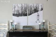 My wall art cost less than $10! | Turn Your Photos Into Wall Art — For Less Than $10! | POPSUGAR Home