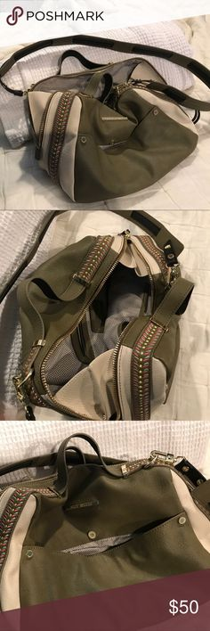 6ff187360a Spotted while shopping on Poshmark: Steve Madden cross body large purse!  #poshmark #