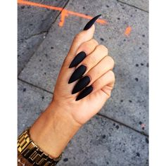 hairstylesbeauty:Sharp and matte black..hairstylesbeauty.tumblr.com