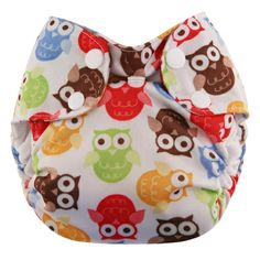 blueberry one size simples all in one diaper, convenience of an all in one and the absorbency adjustability of a pocket diaper. pocket opening on each end. made in usa with 100 cotton and microfleece. wee little changes in eastern nc