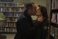 'Phil Coulson' and 'Melinda May' on 'Marvel's: Agents of S.H.I.E.L.D.'