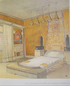 Victor prouv carton d invitation pour l exposition de l for Salle de bain art nouveau
