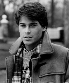 "Rob Lowe in before he wrote his tell-all Hollywood book. ""Class"" was a movie about a guy who is sleeping with his friend's mom while in prep school. It looks very high contrast here. Pretty People, Beautiful People, Perfect People, Actrices Hollywood, Gentleman, Raining Men, Celebs, Celebrities, My Guy"