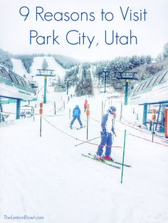 Whether you're an avid skier or simply looking for a fun and accessible winter getaway, here are 9 reasons why you need to add Park City, Utah to your travel bucket list. - Deer Valley Ski Vacation Park City, Utah. Family vacation traveling with kids.