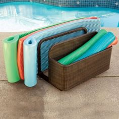 Wicker Float Storage
