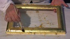 Corso di doratura:  4 - Foglia oro zecchino e argento vero