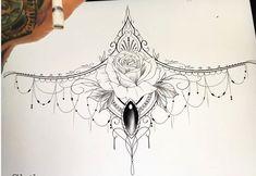 underboob tattoo - DIY And Craft Forearm Tattoos, Body Art Tattoos, Small Tattoos, Sleeve Tattoos, Pretty Tattoos, Beautiful Tattoos, Mandala Tattoo Design, Tattoo Designs, Tattoo Ideas
