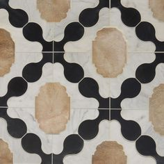 Perfect harmony of calcatta, french terracotta & noire limestone. Tabarka Studio Branches Out Rough Luxe Lifestyle