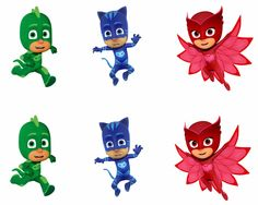 Pj Masks Edible Party Image Cupcake Topper Frosting Icing Sheet Circles Pj Masks Cake Topper, Pj Masks Cupcake Toppers, Pj Mask Cupcakes, Custom Cake Toppers, Superhero Centerpiece, Superhero Party Decorations, Pj Masks Stickers, Pj Max, Superhero Party Supplies