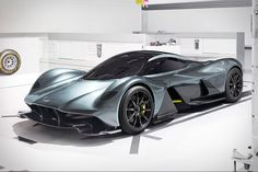 A collaboration between the esteemed British automaker and the Red Bull F1 team, the Aston Martin AM-RB 001 Hypercar is designed to tackle the track like no other car on the road. A carbon fiber structure and radical body give...