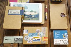 CUSTOMIZE YOUR NOTEBOOK / カスタマイズ | TRAVELER'S COMPANY