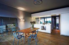 Her er kjøkkenet husets midtpunkt Boffi, Kitchen Interior, Backsplash, Mirror, Table, Furniture, Home Decor, Catalog, Kitchens