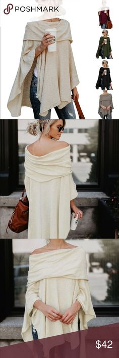 edad642f58 Asymmetrical Sweater M - XXL COMING Tag ur Size This lovely off shoulder  light-weight knitted pull-over (no sleeves) Asymmetrical Top will transform  your ...