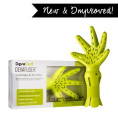 """DevaCurl Fuser is giving you the natural curls with a gorgeous shape.   How to use it: Holding the DevaFuser near the scalp to dry the roots first. Then, cradle the ends of curls in the DevaFuser and bring it up to the scalp so the hair is """"scrunched"""" in the DevaFuser, and hold."""