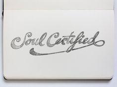Hand-lettered logo by Jackson Alves, via Behance