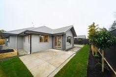 Townhouse, Brick, Garage Doors, Patio, Outdoor Decor, Home Decor, Decoration Home, Terraced House, Terrace