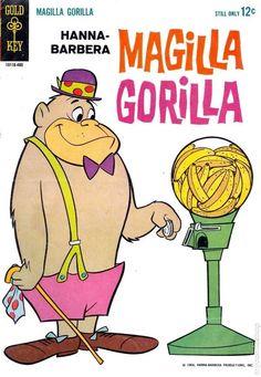 Magilla Gorilla Old School Cartoons, Retro Cartoons, Old Cartoons, Classic Cartoons, Best Cartoons, Classic Cartoon Characters, Favorite Cartoon Character, Cartoon Tv, Cartoon Photo