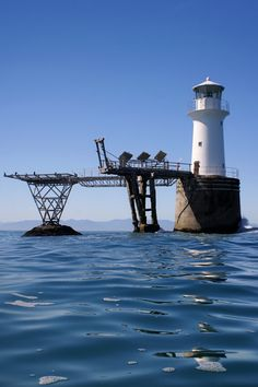 Roman Lock Lighthouse - False Bay, Simons Town, the extreme South-West of South Africa.