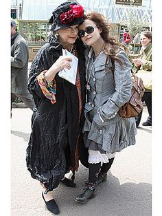 Helena Bonham Carter admitted her mother Elena could have been instrumental in her style choices.