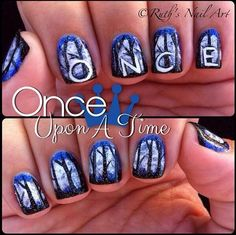 Once Upon A Time nails