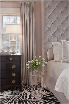 Mauve pinky mink bedroom