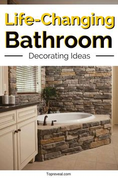 Are you trying to find ways to make your home more unique, more you? Tired of boring cookie cutter designs? One way to be more original is to spruce up your bathroom! Easily one of the most important rooms in the house, the bathroom could always do with more character and convenience. To Here you will find a list of some of the best bathroom ideas to inspire you! #bathroom #bathroomdecor #homedecor #decorideas #diy