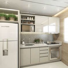 This pin of kitchen design & decor found on Hometalk and around the web. Brought to you by Kitchen Lovers! Kitchen Interior, Kitchen Design Small, Apartment Design, Kitchen Remodel, Kitchen Decor, Contemporary Kitchen, Home Kitchens, Tiny Kitchen, Kitchen Design
