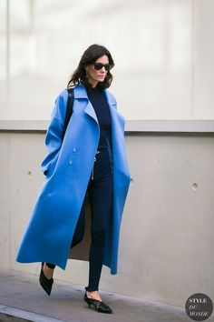 London Fashion Week Fall 2017 Street Style: Hedvig Sagfjord Opshaug
