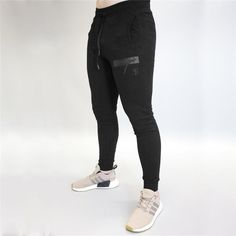 845ae10aa9 Mens Brand Sweatpants. Jogger PantsJoggersMens SweatpantsDrawstring PantsSlim  PantsCasual PantsGym ClothingClothesLeather Men