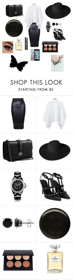"""""""Untitled #95"""" by patricia-pati ❤ liked on Polyvore featuring interior, interiors, interior design, home, home decor, interior decorating, Valentino, Dorfman Pacific, Chanel and BERRICLE"""