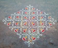 # 20 Rangoli Designs with Dots – For A Perfect Look