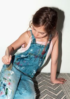 KIDS | PAINTED DENIM-KIDS-EDITORIALS | ZARA United States
