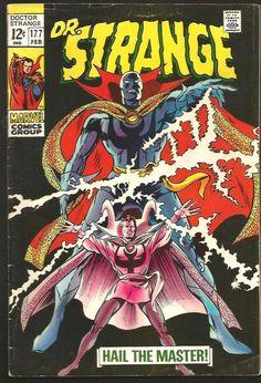 Dr. Strange #177 Gene Colan / Roy Thomas / Palmer FINE range  1977