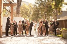 Wedding party, this is so cute